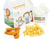kids fish fingers meal