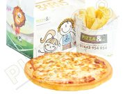 kids pizza meal